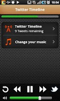 Screenshot of The Social Radio for Twitter