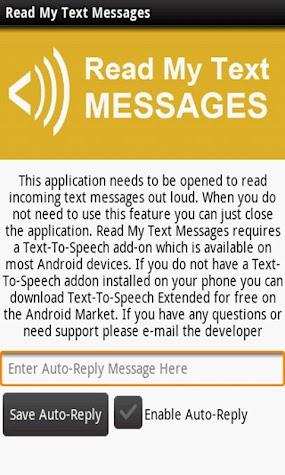 Read My Text Messages Screenshot