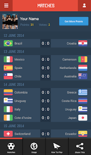SportEyes: World Cup 2014 Vote - screenshot thumbnail