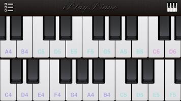 Screenshot of IPlay Piano