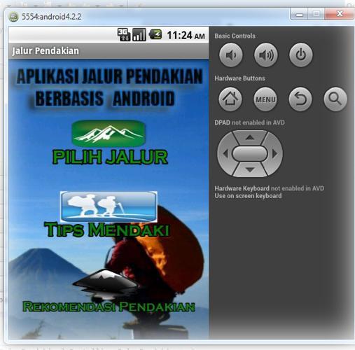 Aplikasi Jalur Pendakian