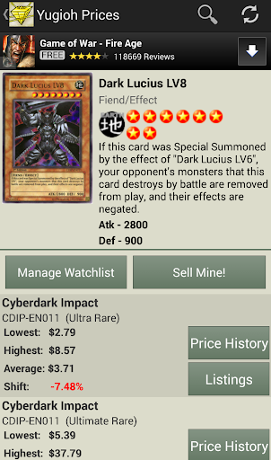 Yugioh Prices