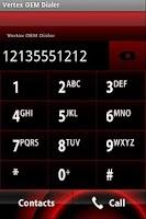 Screenshot of Vertex OEM Dialer