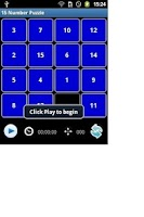 Screenshot of 15 Number Puzzle