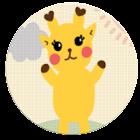큐티기린 카카오톡 테마 icon