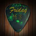 UCCW Skin - Guitar Pick Clock