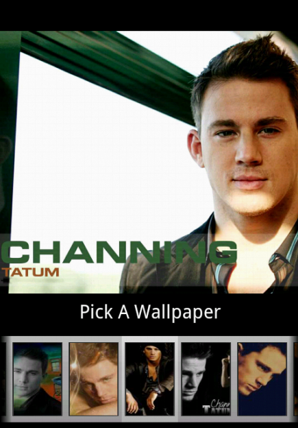 Channing Tatum Wallpaper - screenshot