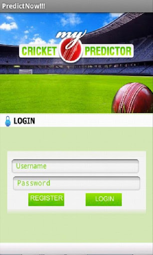 My Cricket Predictor