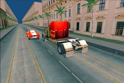 Truck Racing Highway