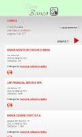 Screenshot of Trova Banca e Bancomat