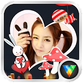Beauty Stickers Live Wallpaper