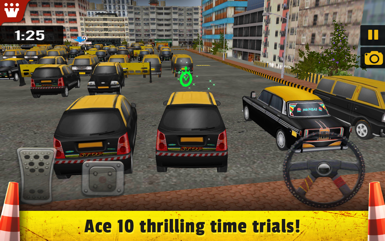 Taxi 3D Parking India- screenshot
