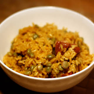 Rice with Pigeon Peas (Arroz con Gandules).