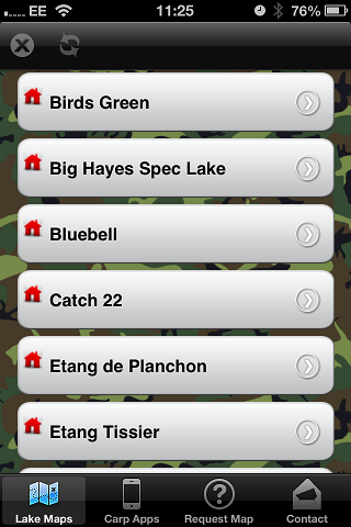 carp lake maps - Carp Fishing - screenshot