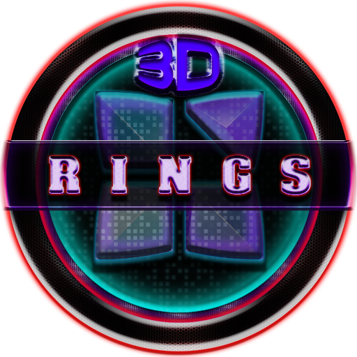 Next Launcher 3D Rings Theme