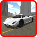 Luxury Car Driving 3D icon