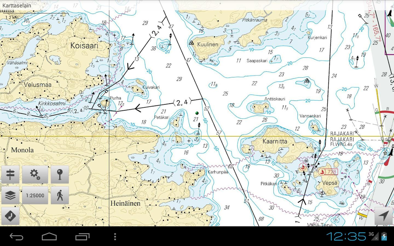 Karttaselain - screenshot
