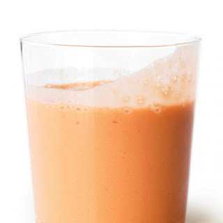 Carrot-Ginger Smoothie.
