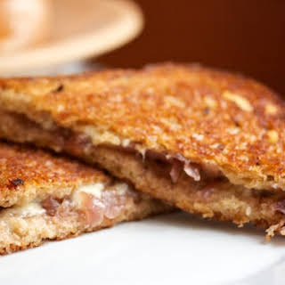 French Onion Grilled Cheese.