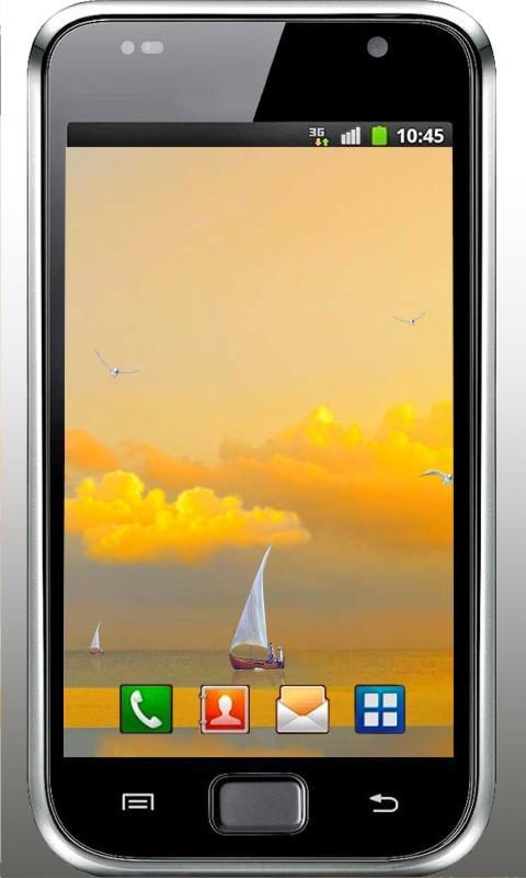 Beach Sea Sunset livewallpaper - screenshot