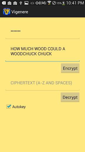 Vigenere Cipher