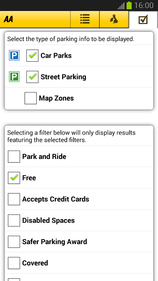 AA Parking - screenshot