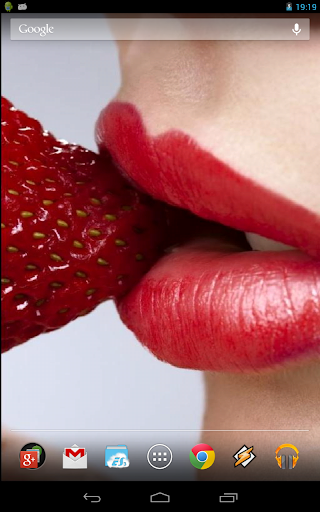 Sweet Strawberry Lips