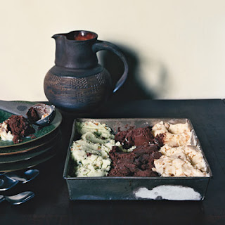 Almond, Chocolate, and Pistachio Spumoni