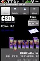Screenshot of CSDB Random release