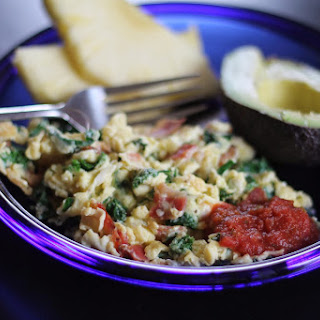Loaded Scrambled Eggs*