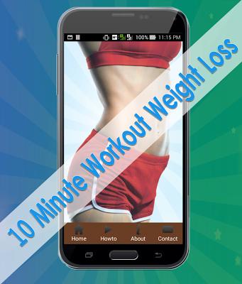 10 Minute Workout Weight Loss - screenshot