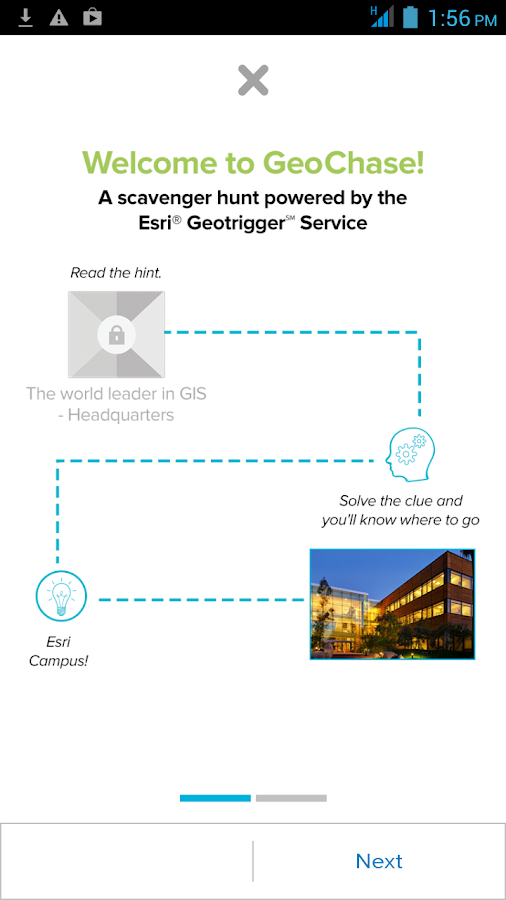 GeoChase - screenshot