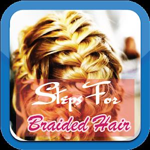 用于编织头发的步骤 LOGO-APP點子