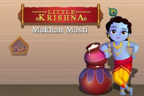 Little Krishna Makhan Masti