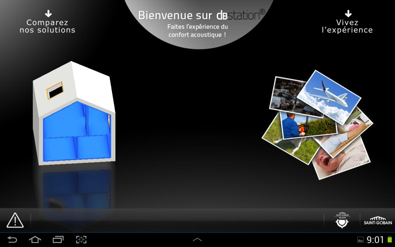 Glass dBstation France - screenshot