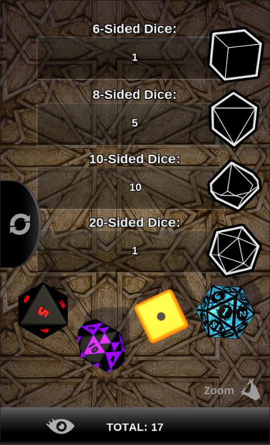 Flick the Dice- screenshot