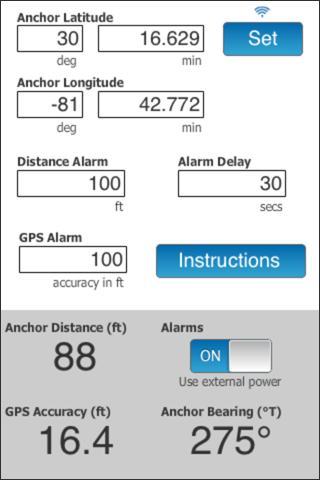 DragQueen Anchor Alarm- screenshot