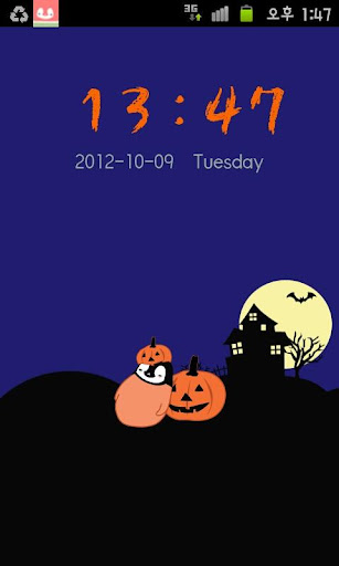 Pepe-halloween Go locker theme