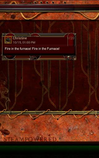 Steampunk GO Message Theme