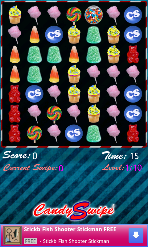 Candy Swipe® 2.0 FREE - screenshot