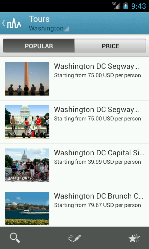 Washington D.C. Travel Guide - screenshot
