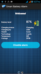 Battery Full Theft Alarm