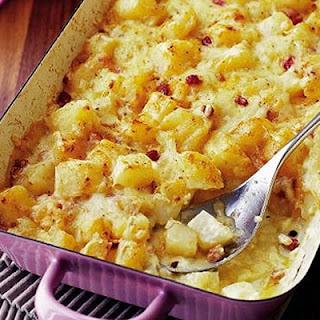 Cheesy Swiss bake