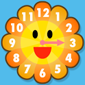 Sunflower clock for Infant icon