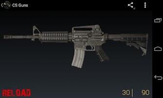 Screenshot of CS Guns