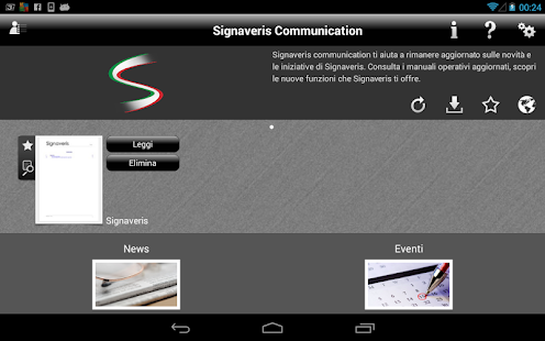 Signaveris Communication- screenshot thumbnail