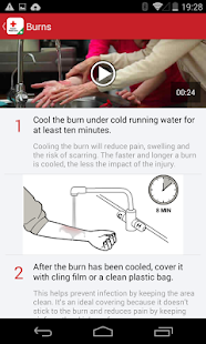First aid by British Red Cross - screenshot thumbnail