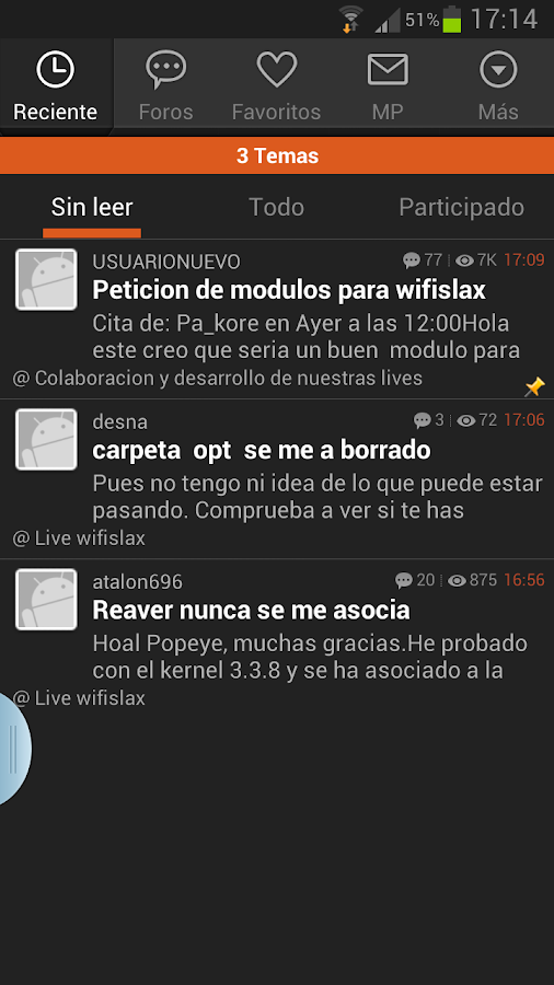 Foro seguridadwireless- screenshot