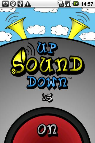 UpSoundDown - screenshot