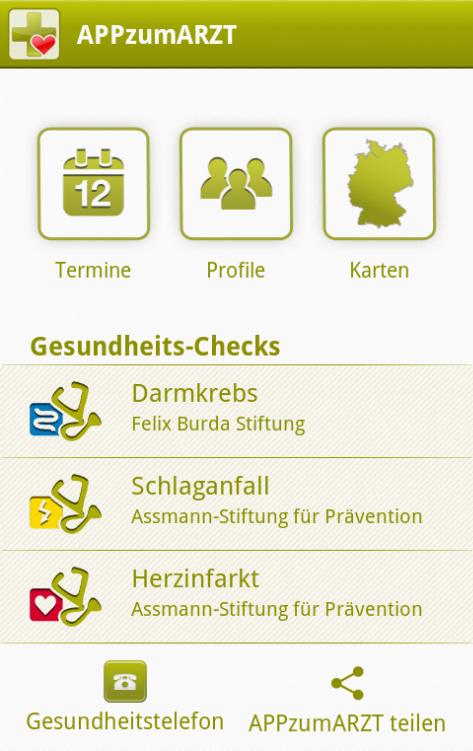 APPzumARZT - screenshot